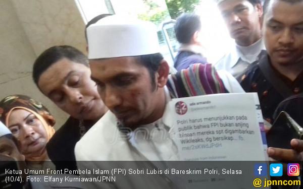 Ogah Main Hakim Sendiri, FPI Laporkan Ade Armando ke Polisi - JPNN.com