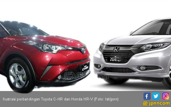 Antara Toyota C-HR dan Honda HR-V, Ini Bedanya! - JPNN.com