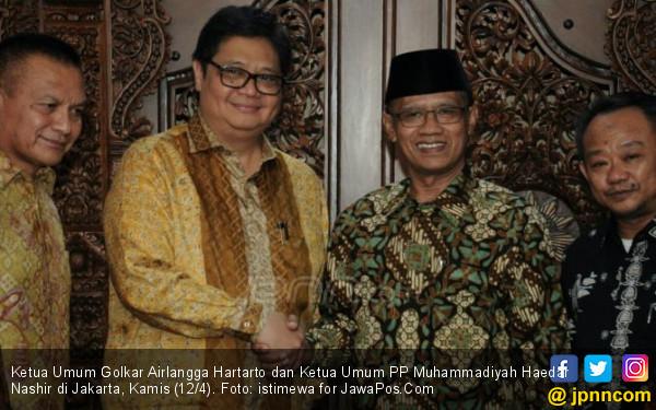 Airlangga Ajak Warga Muhammadiyah Berkiprah di Golkar - JPNN.COM