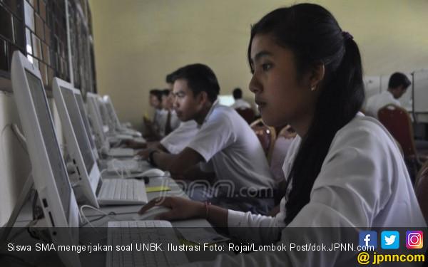 UNBK SMA di Jateng, Beberapa Soal Matematika Kosong - JPNN.COM