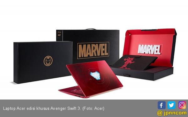 Keren! Laptop Acer Edisi Khusus Avenger Infinity War - JPNN.COM