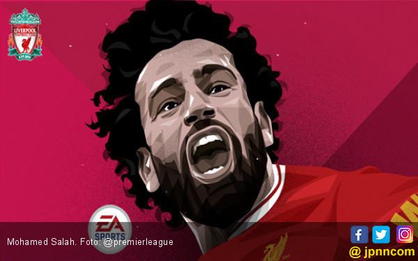Salip Drogba, Mohamed Salah Berpeluang Kalahkan Ronaldo - JPNN.COM