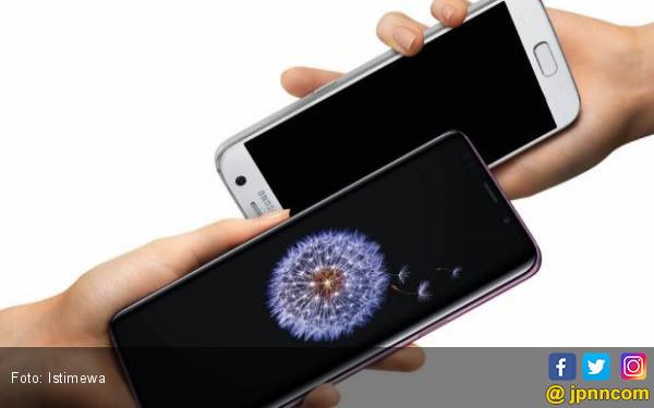 Samsung Galaxy S9 dan S9 Plus, Ayoo Tukar Ponsel Lama - JPNN.COM
