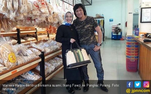 So Sweet, Mesranya Marissa Haque dan Ikang Fawzi - JPNN.com