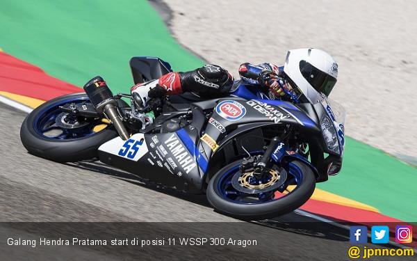 Finis ke-16 WSSP300, Galang Terbaik di Antara Rider Yamaha - JPNN.COM
