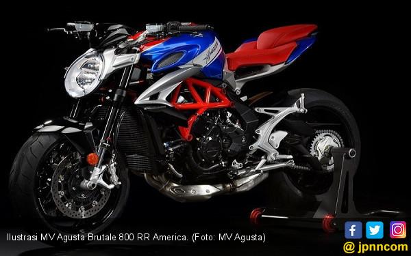 MV Agusta Brutale 800 RR America Bawa Semangat Legenda - JPNN.COM