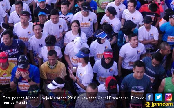 Mandiri Jogja Marathon 2018, Pelari Kenya Borong Hadiah - JPNN.COM
