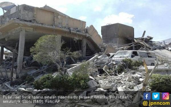 Gempuran Amerika Tak Akan Hentikan Serangan Kimia di Syria - JPNN.COM