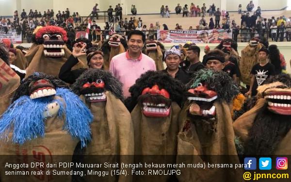 Pecahkan Rekor, Bang Ara Jadi Duta Reak Sunda - JPNN.COM