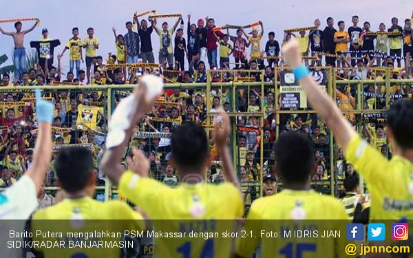 Barito Putera Vs Psm Makassar  Gol Telat Adalah Mukjizat Jpnn Com
