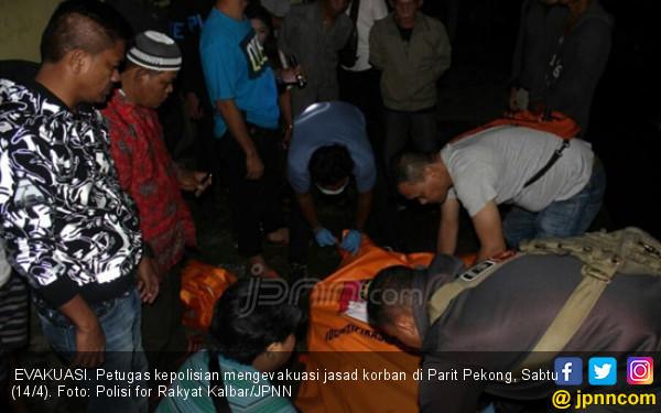 Gelagat Aneh Mislan Sebelum Lompat ke Sungai Kapuas - JPNN.COM