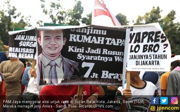 Libatkan Bocah, Koordinator Demo Anies - Sandi Harus Dihukum - JPNN.COM