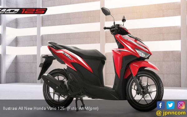 All New Honda Vario 125 Dirilis, Ini Bedanya dari Vario 150 - JPNN.COM
