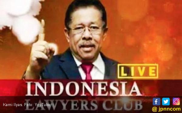 Pelapor Rocky Gerung Anggap Karni Ilyas Tak Bijak Pilih Tema - JPNN.COM