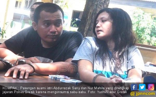 Ibu Muda dan Suami Kedua Kompak Pakai Narkoba, Nih Fotonya - JPNN.COM