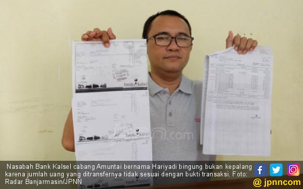 Kisah Hariyadi Transfer Rp 22 M, yang Masuk Cuma Rp 3 M - JPNN.COM