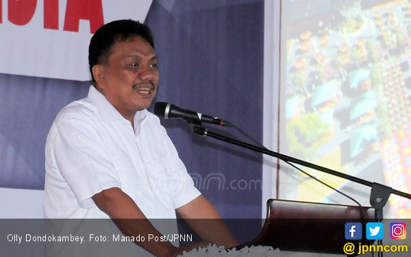 Dapat Nomor Urut 3, Olly Dondokambey: Angka Tiga Simbol Persatuan Indonesia - JPNN.com