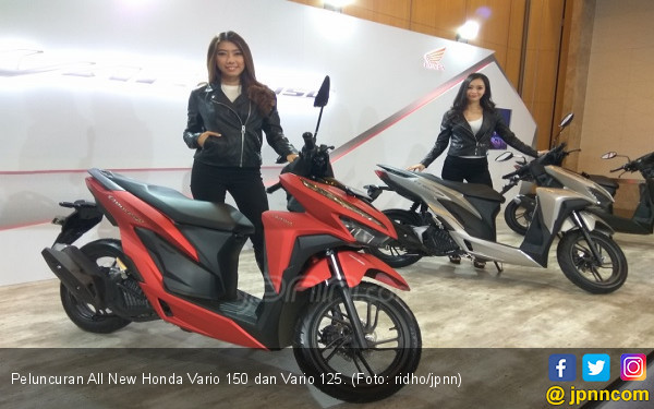 Harga All New Honda Vario 150 dan Vario 125 Sasar Anak Muda - JPNN.COM