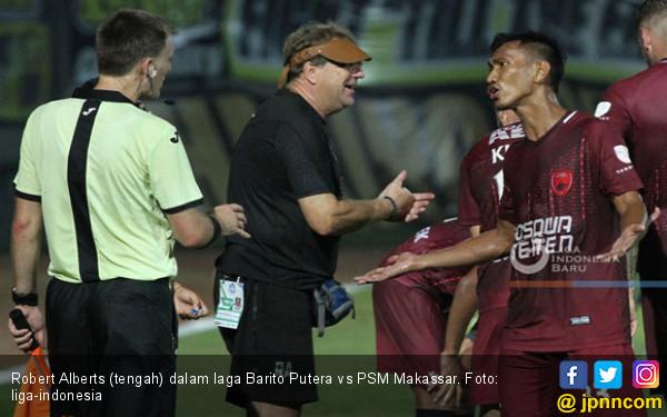 Pengakuan Alberts Usai Laga Dramatis Barito vs PSM Makassar - JPNN.COM
