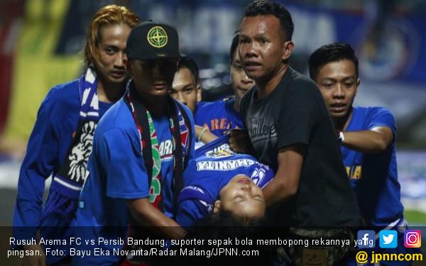 Rusuh Arema FC vs Persib Bandung: Begini Sikap Resmi PT LIB - JPNN.COM