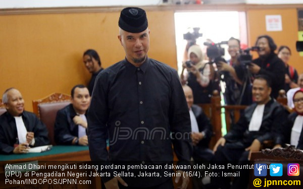 Disidang, Ahmad Dhani Masih Lantang, nih Pernyataannya - JPNN.COM