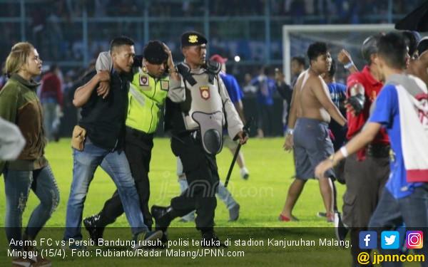 4 Pasal Dilanggar, Sanksi Arema FC Dipastikan Cukup Berat - JPNN.COM