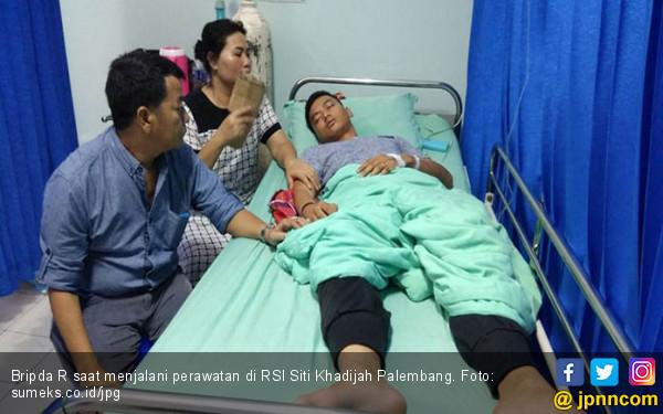 Bripda R Masuk Rumah Sakit Lantaran Dianiaya Pimpinannya - JPNN.COM