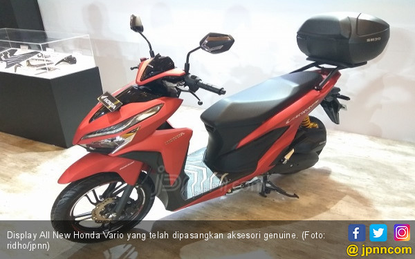 Pilihan Aksesori Honda Vario Series Terbaru, Harga Gaul - JPNN.COM