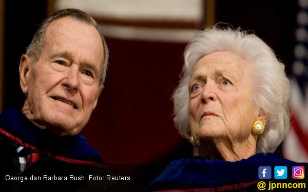 Barbara Bush, Masih Jatuh Cinta di Usia 92 - JPNN.COM