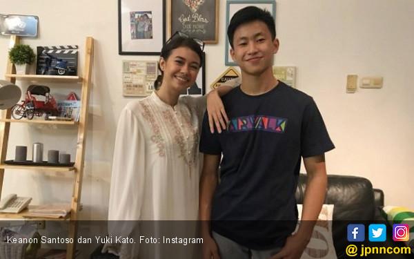 Yuki Kato Dukung Keanon Santoso Balapan di Tiongkok - JPNN.COM