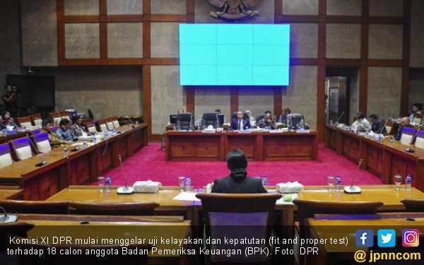 Komisi XI Uji 18 Calon Anggota BPK - JPNN.COM