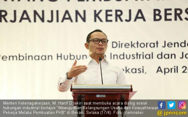 Menaker Imbau Pengusaha dan SP Intensifkan Forum Bipartit - JPNN.COM