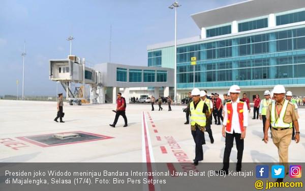 Bandara Jabar Segera Beroperasi, Pak Jokowi Mengaku Happy - JPNN.COM