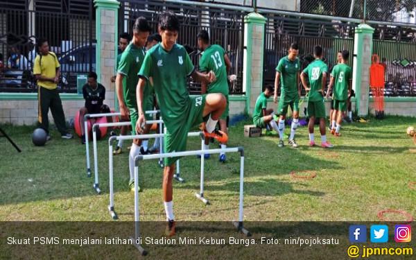 Jelang Hadapi Perseru, PSMS Medan Latihan Tanpa Sang Pelatih - JPNN.COM