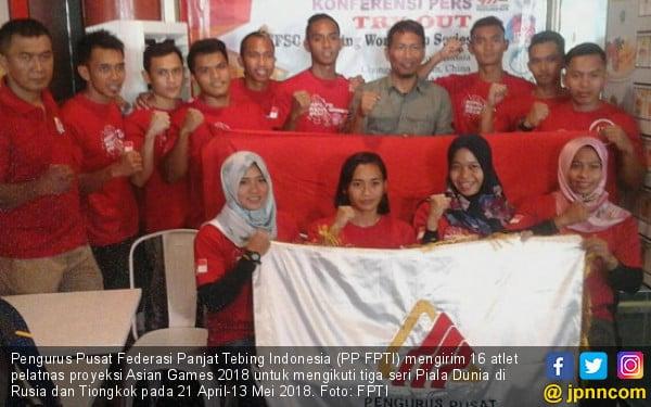 Tim Panjat Tebing Asian Games 2018 Asah Nyali Di Piala Dunia Jpnn Com