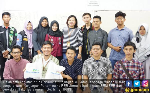 Pertamina Goes to Campus Libatkan Ribuan Mahasiswa - JPNN.COM