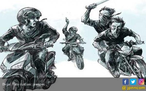 Identitas Sudah Diketahui, Polisi Buru 5 Pelaku Begal di Pekopen - JPNN.COM