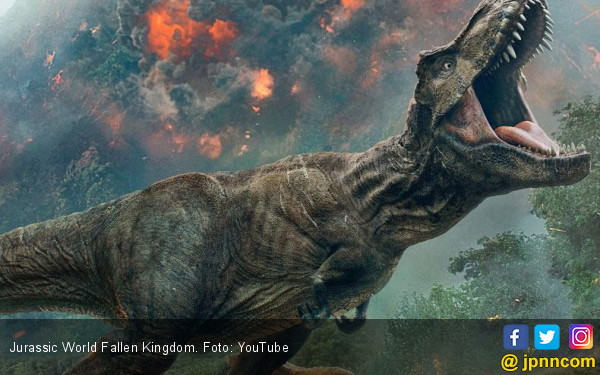 Dinosaurus dan 8 Pencuri Cantik Kuasai Box Office - JPNN.COM