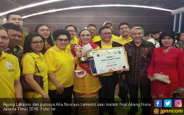 Putri Agung Laksono Masuk Tiga Besar None Jakarta Timur 2018 - JPNN.com