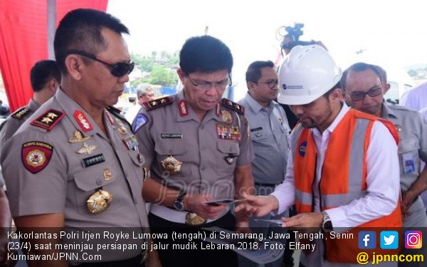 Polisi Siapkan Penerangan Darurat Per 5 Km di Tol Fungsional - JPNN.com