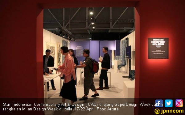 ICAD Rambah Milan Design Week dengan Java Blues - JPNN.COM