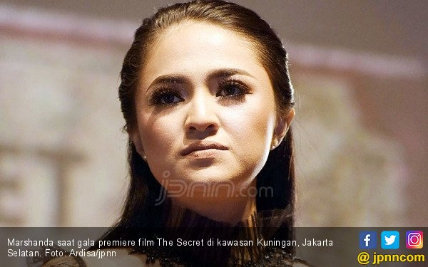 Marshanda Sempat Kesulitan Main di Film The Secret - JPNN.COM