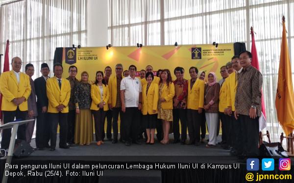 Lindungi Alumni, Iluni UI Bentuk Lembaga Hukum - JPNN.COM
