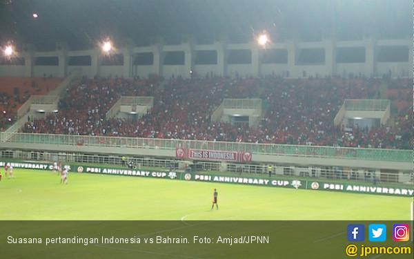 Bermain dengan 9 Pemain, Indonesia Takluk 0-1 dari Bahrain - JPNN.com