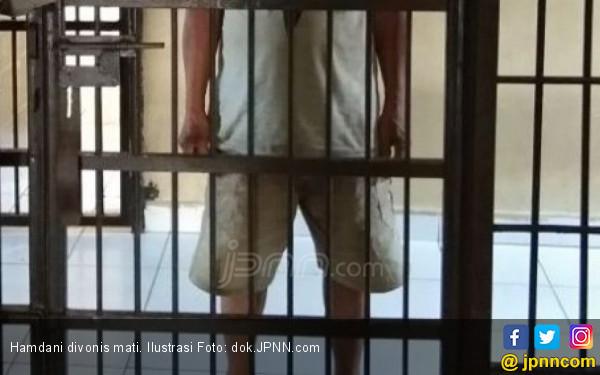 hamdani dihukum mati anaknya mengaku sangat puas kriminal jpnn com