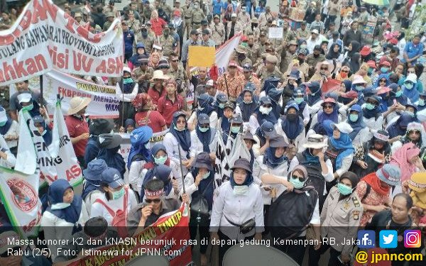 PDIP: Masa Negara tak Bisa Selesaikan Masalah Honorer K2? - JPNN.COM