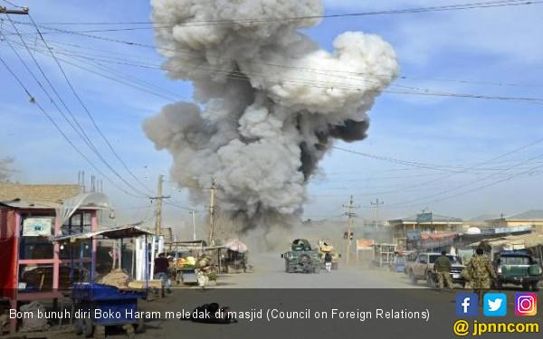 Bom Boko Haram Meledak di Masjid, 27 Jemaah Tewas - JPNN.COM