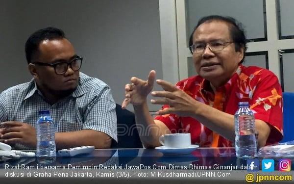 Rizal Ramli Sebut Bung Karno dan Pak Harto Hebat, Ada Juga Pemimpin Gagap - JPNN.com