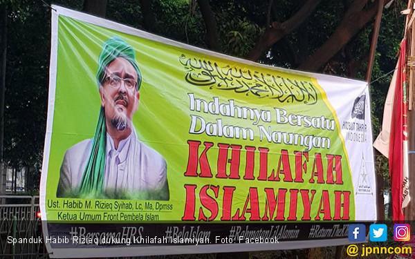 Spanduk HRS Dukung Khilafah Beredar di Depok, Ini Kata FPI - JPNN.com