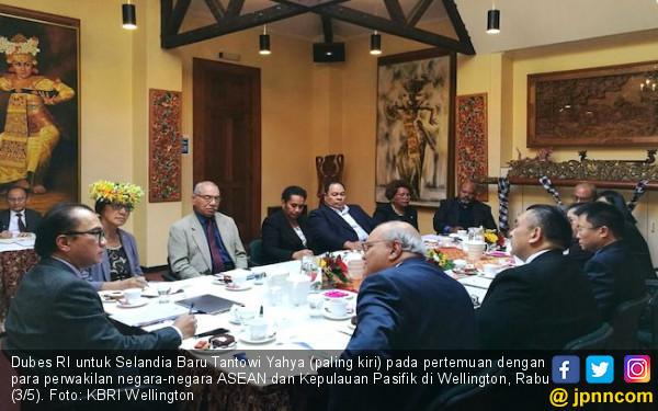 Bahas Tiongkok, Tantowi Pertemukan ASEAN dan Pasifik Selatan - JPNN.COM